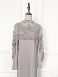 cheap -Fashion Kaftan Dress Abaya Arabian Dress Women's Festival / Holiday Halloween Costumes Gray Pink Solid Colored