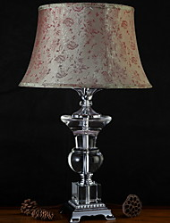 cheap -Retro / Vintage Crystal Table Lamp For 220V Fuchsia