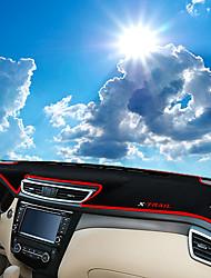 Недорогие -автомобильный Маска для приборной панели Коврики на приборную панель Назначение Nissan 2014 / 2015 / 2016 X-Trail