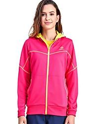 cheap -Women's Hiking Fleece Jacket Outdoor Winter Keep Warm Fast Dry Top Single Slider Camping / Hiking Casual Running