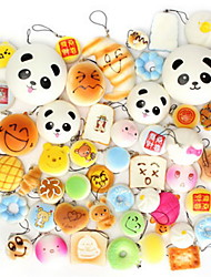 cheap -LT.Squishies Squeeze Toy / Sensory Toy Cake Panda Office Desk Toys Stress and Anxiety Relief Decompression Toys Novelty Food&Drink All