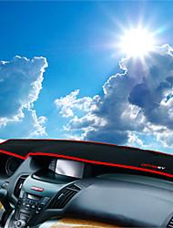 abordables -Automobile Matrice de tableau de bord Tapis Intérieur de Voiture Pour Honda 2009 2010 2011 2012 2013 2014 Odyssey