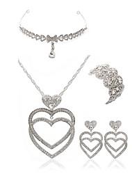 economico -Per donna I monili nuziali Gioielli per fronte Strass Diamanti d'imitazione Lega Di forma geometrica goccia Di tendenza Europeo