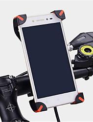 Недорогие -Велоспорт Мобильный телефон Держатель подставки Регулируемая подставка Мобильный телефон Тип пряжки ABS Держатель
