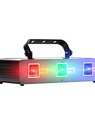 cheap -U'King Laser Stage Light 9 DMX 512 Master-Slave Sound-Activated Auto for Festival/Holiday Club Bar Stage Party Professional Durable