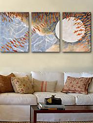 Недорогие -Холст для печати 3 панели холст Вертикальная С картинкой Декор стены Украшение дома