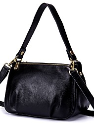 cheap -Women's Bags Cowhide Tote / Shoulder Bag Zipper / Pocket Purple / Wine / Royal Blue