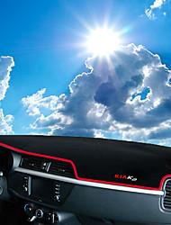 Недорогие -автомобильный Маска для приборной панели Коврики на приборную панель Назначение Kia 2017 K2