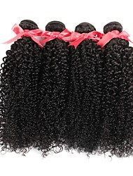 cheap -Brazilian Kinky Curly Hair Weave Bundles Human Hair Extensions 8-28 Inches Unprocessed Natural Color Machine Double Weft