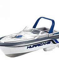 Недорогие -Лодка на радиоуправлении HY218Blue Пластик 4 каналы КМ / Ч RTR