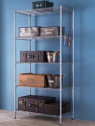 cheap -Stainless Steel Creative Kitchen Gadget Cabinet Organization 1pc Kitchen Organization