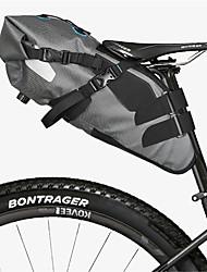 abordables -ROSWHEEL Sac de Vélo 7L Sac de Porte-Bagage/Double Sacoche de Vélo Etanche Vestimentaire Facile à Installer Sac de Cyclisme Tissu étanche