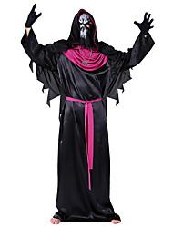 Недорогие -Дьявол Косплэй Kостюмы Муж. Хэллоуин Фестиваль / праздник Костюмы на Хэллоуин Черный Halloween Хэллоуин