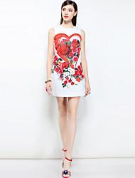 cheap -MARY YAN&YU Women's Boho A Line Dress - Floral, Print