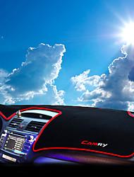 Недорогие -автомобильный Маска для приборной панели Коврики на приборную панель Назначение Toyota Все года Camry