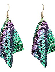cheap -Women's Drop Earrings - Metallic Fashion , For Party Festival
