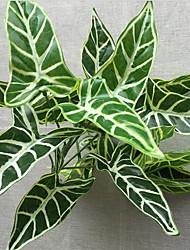 cheap -1 Branch Plastic Plants Tabletop Flower Artificial Flowers