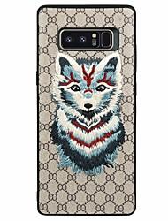 preiswerte -Hülle Für Samsung Galaxy Note 8 Muster Tier Weich für