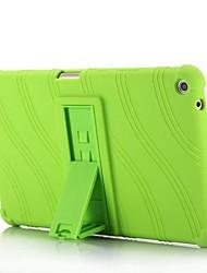 preiswerte -Hülle Für HUAWEI MediaPad T3 8.0 mit Halterung Rückseite Solide Gestreift Muster Weich Silikon für Huawei MediaPad T3 8.0