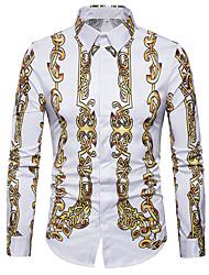 cheap -Men's Casual Shirt Print