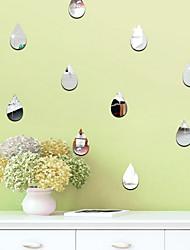 Недорогие -Геометрия Наклейки Простые наклейки Декоративные наклейки на стены, деревянный Украшение дома Наклейка на стену Окно