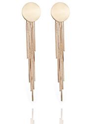 cheap -Women's Tassel Drop Earrings - Tassel, Fashion Gold / Black / Silver For Going out / Work