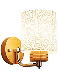 abordables -Protection des Yeux Appliques Chambre à coucher Bois / Bambou Applique murale 220V 9W