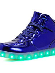 cheap -Shoes PU Spring Comfort Sneakers LED for Black / Blue / Pink
