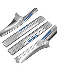 economico -Scuff interni automobilistici interni auto fai da te per bmw 3 serie gt acciaio inox