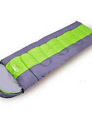 economico -Sacco a pelo Rettangolare Singolo 0~5~+12 Cotone cavo Tenere al caldo Antivento Anti-polvere 190+30X75 Escursionismo Campeggio