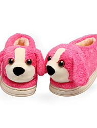 cheap -Girls' Shoes Fleece Winter Fall Comfort Slippers & Flip-Flops for Casual Coffee Peach Brown Blue Pink