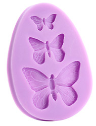 cheap -Soft Silicone Cake Decorating Mold Butterfly Shape Bakewares Decoration