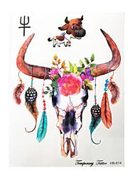 Недорогие -Стикер татуировки рука / плечо Временные татуировки 1 pcs Тату с животными Как на фотографии Искусство тела Повседневные