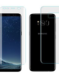 cheap -Screen Protector Samsung Galaxy for S8 TPU Hydrogel 2 pcs Front & Back Protector Self-healing 3D Curved edge