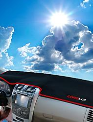 abordables -Automobile Matrice de tableau de bord Tapis Intérieur de Voiture Pour Toyota 2008 2009 2010 2011 2012 2013 Corolla
