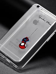 cheap -iPhone 7 Plus Creative Cute Cartoon TPU Phone Case for iPhone 6/6S/6 Plus/6S Plus