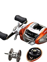 cheap -Fishing Reel Baitcasting Reel 6.2:1 Gear Ratio+12 Ball Bearings Left-handed Right-handed Bait Casting - LV200