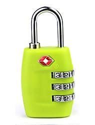 economico -il codice doganale blocca 4 scatole di borsa da viaggio password lucchetto in metallo a quattro serrature tsa335