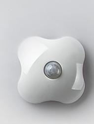 abordables -1pc LED Night Light Batteries AAA alimentées Lampes LED activées par le son