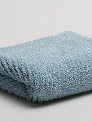 Недорогие -Свежий стиль Полотенца для мытья, Однотонный Высшее качество 100% хлопок 100% Хлопчатник Полотенце
