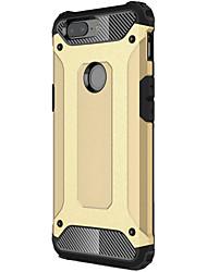 Недорогие -Кейс для Назначение OnePlus броня Кейс на заднюю панель броня Мягкий ТПУ для OnePlus 5T