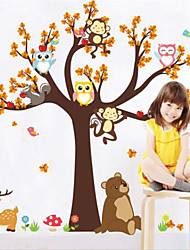 cheap -Animals Wall Stickers Plane Wall Stickers Decorative Wall Stickers, Vinyl Home Decoration Wall Decal Wall