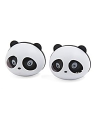 cheap -2 pcs panda shaped car air freshener perfume w two clips