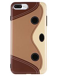 Capinha Para Apple iPhone X iPhone 8 IMD Estampada Capa traseira Desenho Animado Macia TPU para iPhone X iPhone 8 Plus iPhone 8 iPhone 7