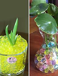 cheap -50G Crystal Soil Mud Grow Water Beads Hydrogel Magic Gel Jelly Balls Orbiz Sea Baby Growing
