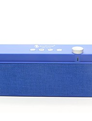 Недорогие -NR-2015 Bluetooth-динамик Bluetooth 2.1 USB Слот для карт памяти TF Домашние колонки Черный Серый Коричневый Красный Синий