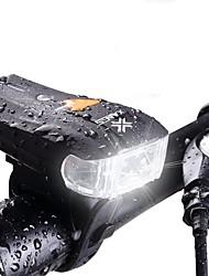 Недорогие -Велосипедные фары Интеллектуальные огни Светодиодная лампа Велоспорт Водонепроницаемый 600 Люмен Белый Походы/туризм/спелеология