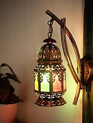 Недорогие -Деревенский Настенные светильники Назначение Спальня Металл настенный светильник 220-240Вольт 40W
