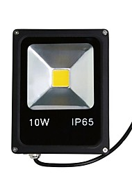cheap -1pc 10W LED Floodlight Waterproof Decorative Outdoor Lighting Warm White Cold White AC85V-265V