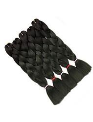 cheap -Afro African Braids 5-Pack Twist Braids Hair Braids 22 ¾in(58cm)